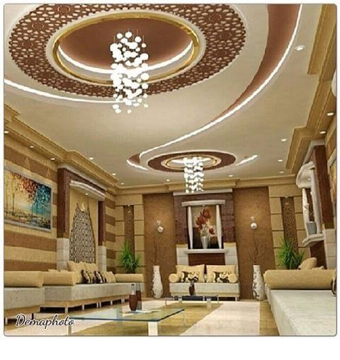 45 Modern false ceiling designs for living room - POP wall ...