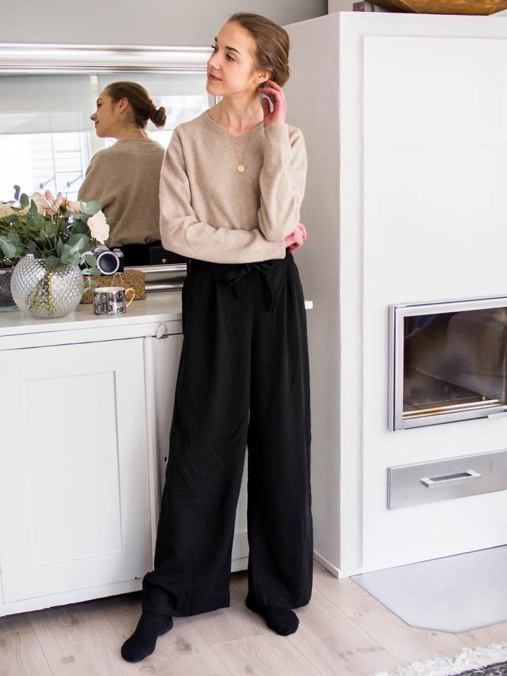 What to wear to work productively from home - Pukeutumisinspiraatio, kotitoimisto, muoti, bloggaaja