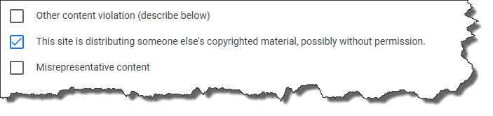 melaporkan blog copypaste ke google adsense