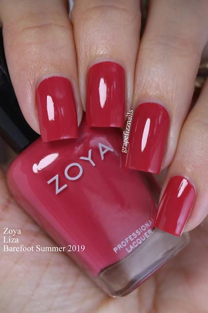 Zoya Liza Barefoot Summer 2019