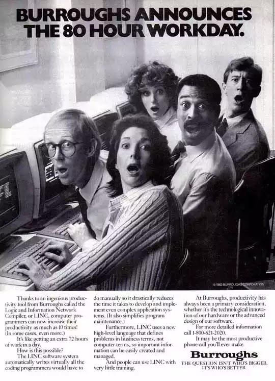 Old days' Computer Advertisements 9