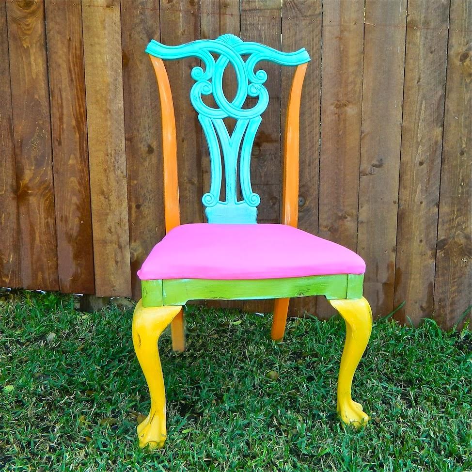Mark Montano: $5 Boho Thrift Store Chairs DIY