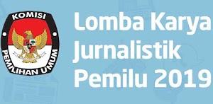 Lomba Karya Jurnalistik Pemilu 2019
