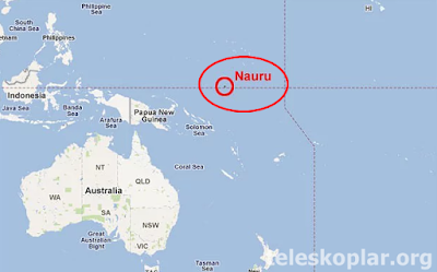Nauru haritası