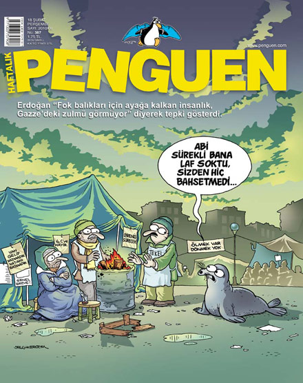 Penguen Dergisi - 10 Şubat 2010 Kapak Karikatürü