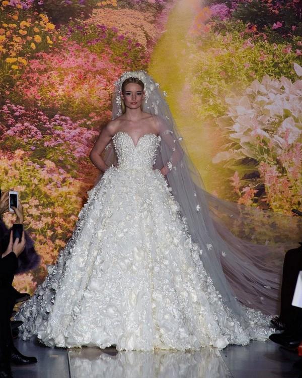 Zuhair Murad Wedding Dress Runway