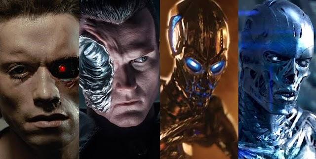 Conheça os modelos de Exterminadores do Futuro