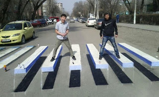 zebra cross kreatif