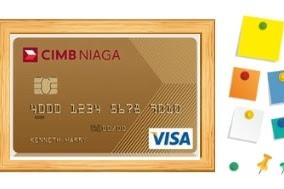 Review Kartu Kredit CIMB Niaga Visa Gold