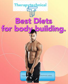 Diets for build a great body.