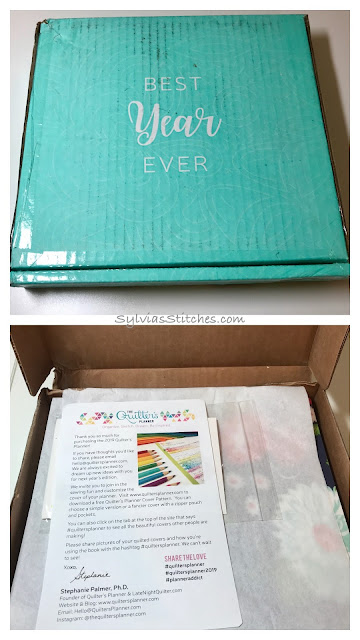 Quilter's Planner Unboxing