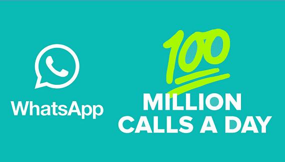 واتس اب تعلن عن 100 مليون مكالمة صوتية يوميا VOIP حظر فك تجاوز التجسس على رسائل