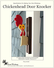 Make Your Own Chickenhead Door Knocker