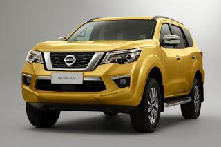 Nissan Terra (2018) Front Side
