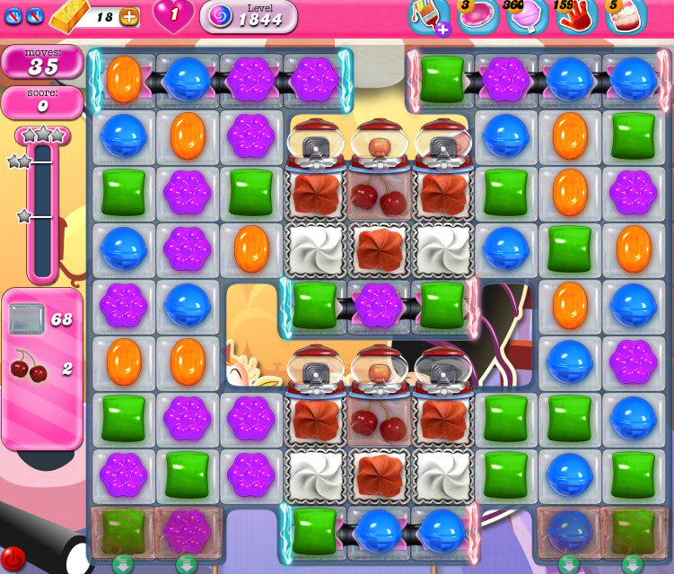 Candy Crush Saga 1844