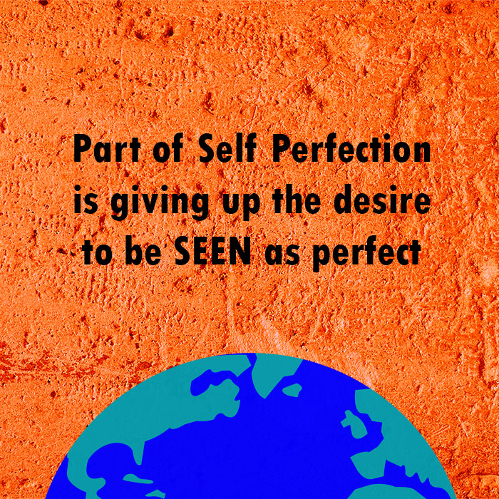 How to get past self-perfectionism?