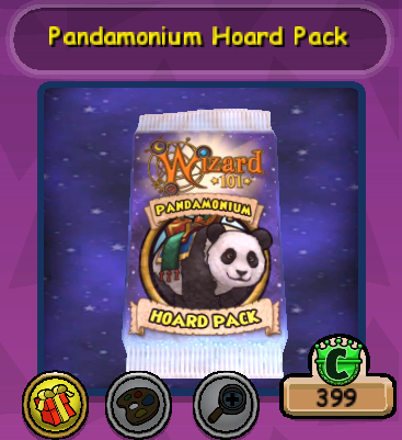 The New Pandamonium Hoard Pack Is Here! - Stars of the Spiral