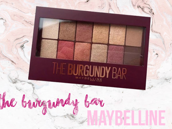 Paleta The Burgundy Bar Maybelline