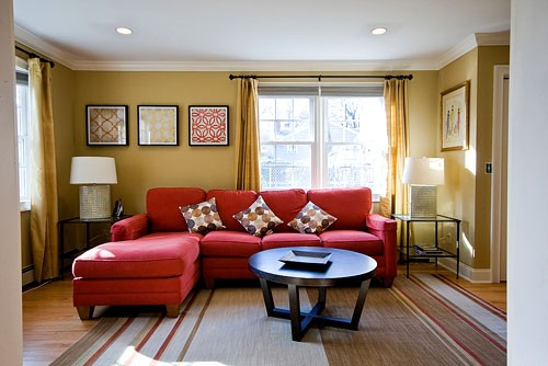 Andrea Espach Design: Red Couches?