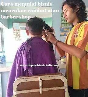 Bisnis, Info, Barber Shop, Cukur Rambut