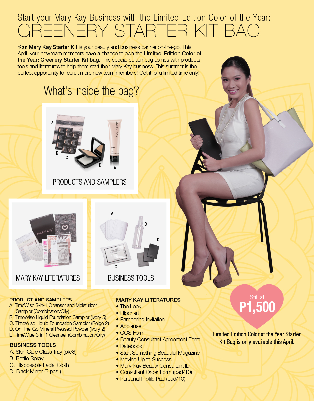 Sulit De Senyo Blog Mary Kay Starter Kit 1500php Philippines
