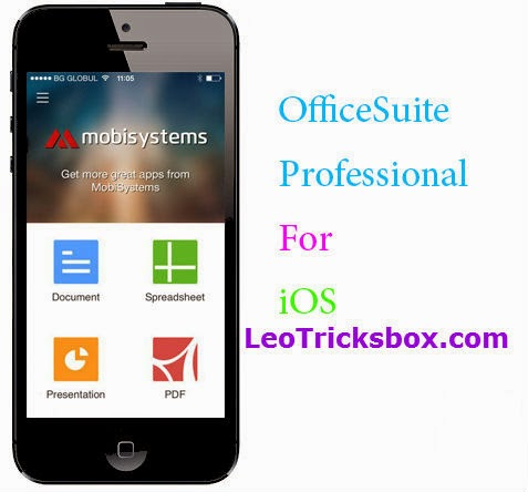 IPhone App : Office Suite Professional v 3.0