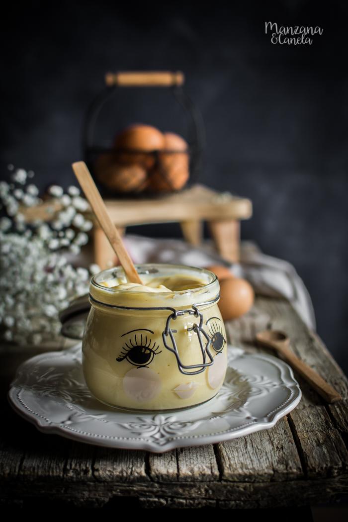 Receta de crema pastelera exprés (al microondas)