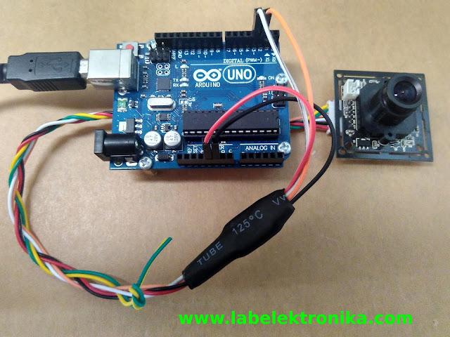 Cara Program Camera Serial VC0706 Menggunakan Arduino