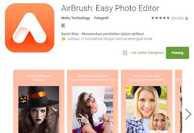 Airbush Foto Editor