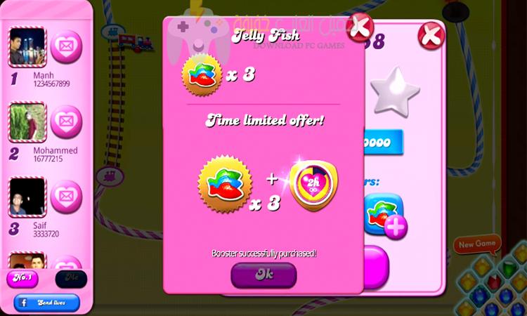 تحميل لعبة كاندي كراش Candy Crush Saga