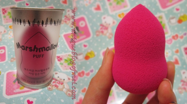 Althea Korea Haul Too cool for school marshmallow puff