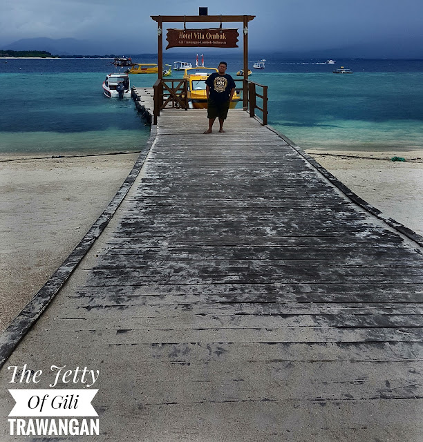 Jetty Of Gili Trawangan
