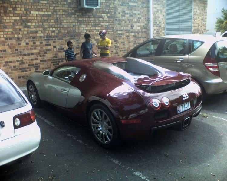 Bugatti Veyron Spotted In Cape Town