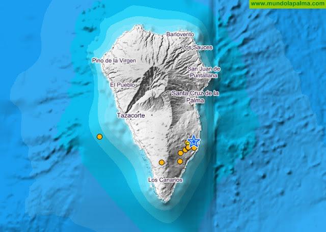 Enjambre sísmico La Palma