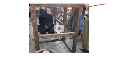 "VIDEO: Heboh Video Penangkapan Pelaku Pesugihan Burung ""Beak"" Rupanya Seorang Wanita"
