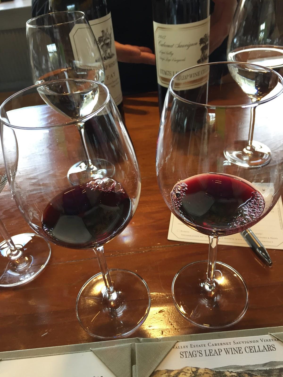 フード&ワインの日々 ナパ ワイナリー:パリスの審判で有名 Stag S Leap Wine Cellars