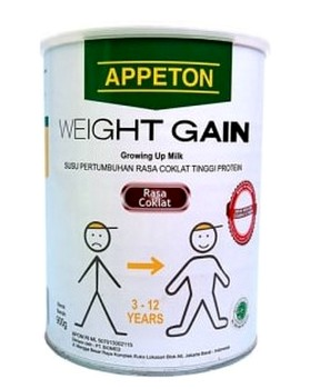 pengalaman minum susu Appeton Weight Gain