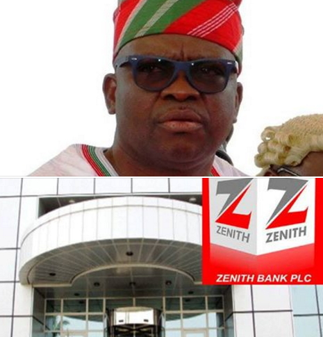 zenith bank exposes fayose