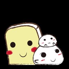 Cute~Rice cake friend