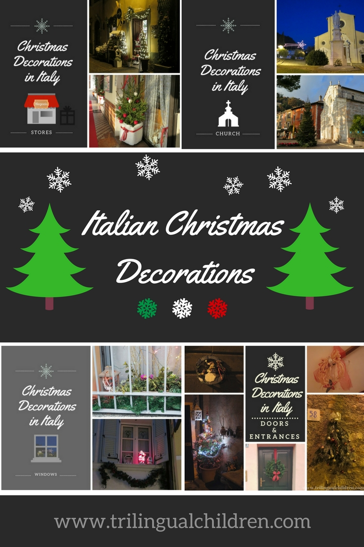 however lately many italians started putting out christmas decorations and lights as early as at the end of november