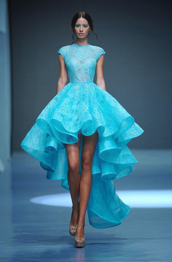 Michael Cinco Fashion Show: Marian In Michael Cinco's Spring/Summer 2015 Couture