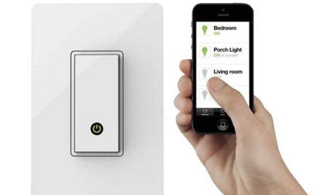 Ringankan Pekerjaan Rumah - Wemo Light Switch