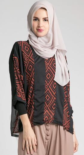 Contoh Model Baju Hamil Muslim Kebaya