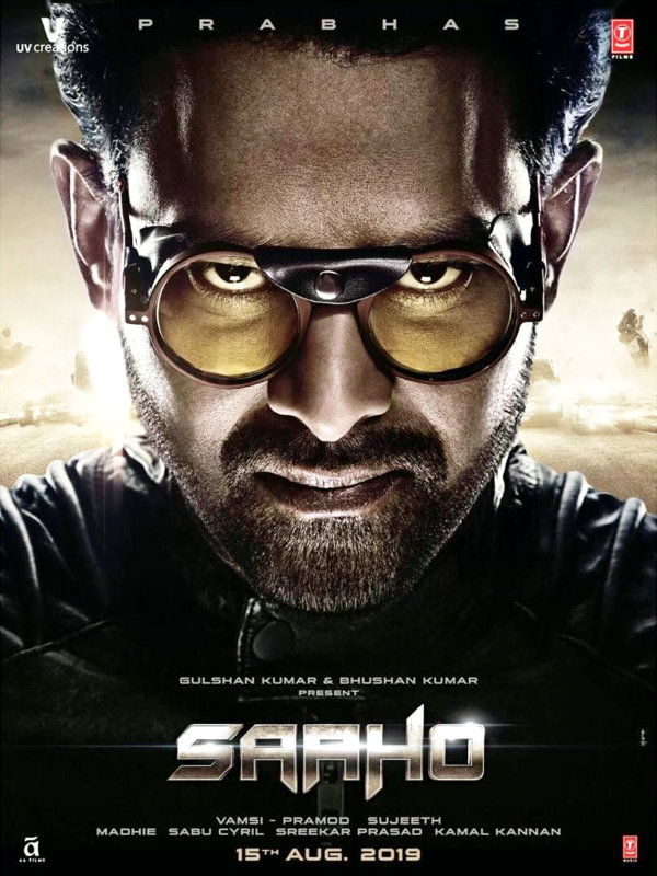 Prabhas in Saaho Film : New Poster