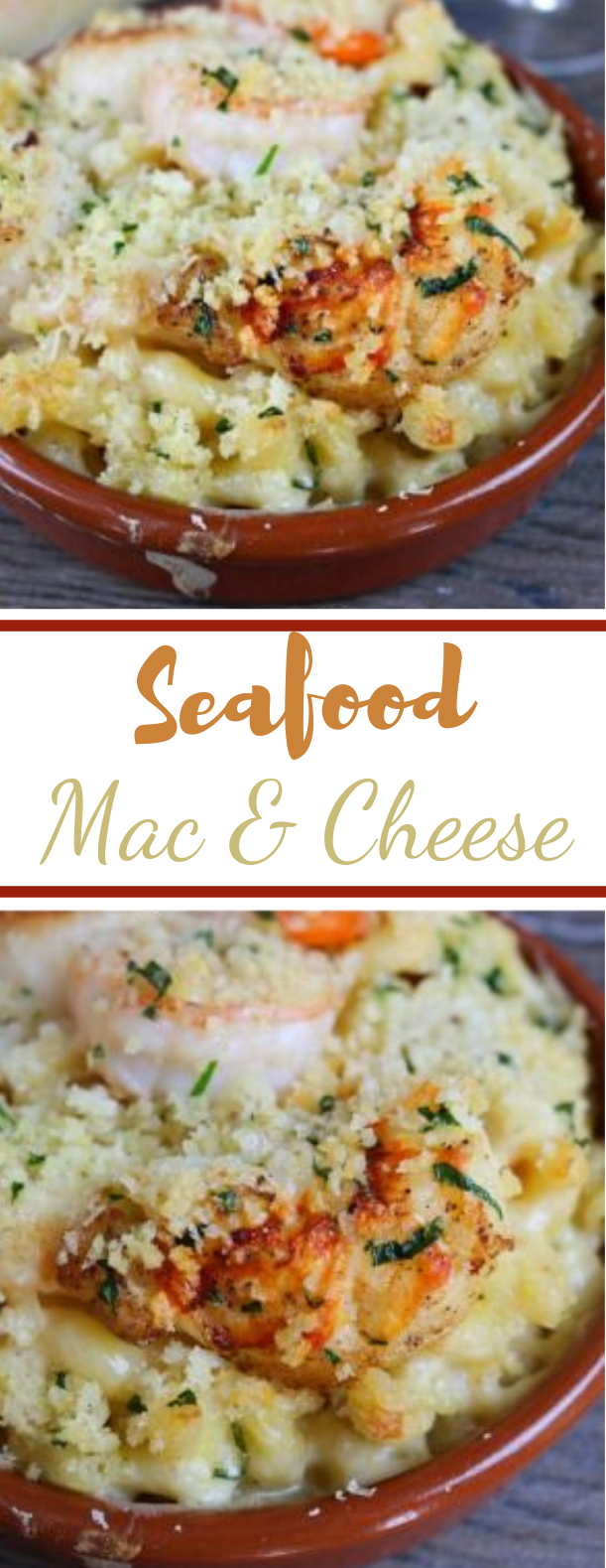 Seafood Mac & Cheese #delicious #dinner
