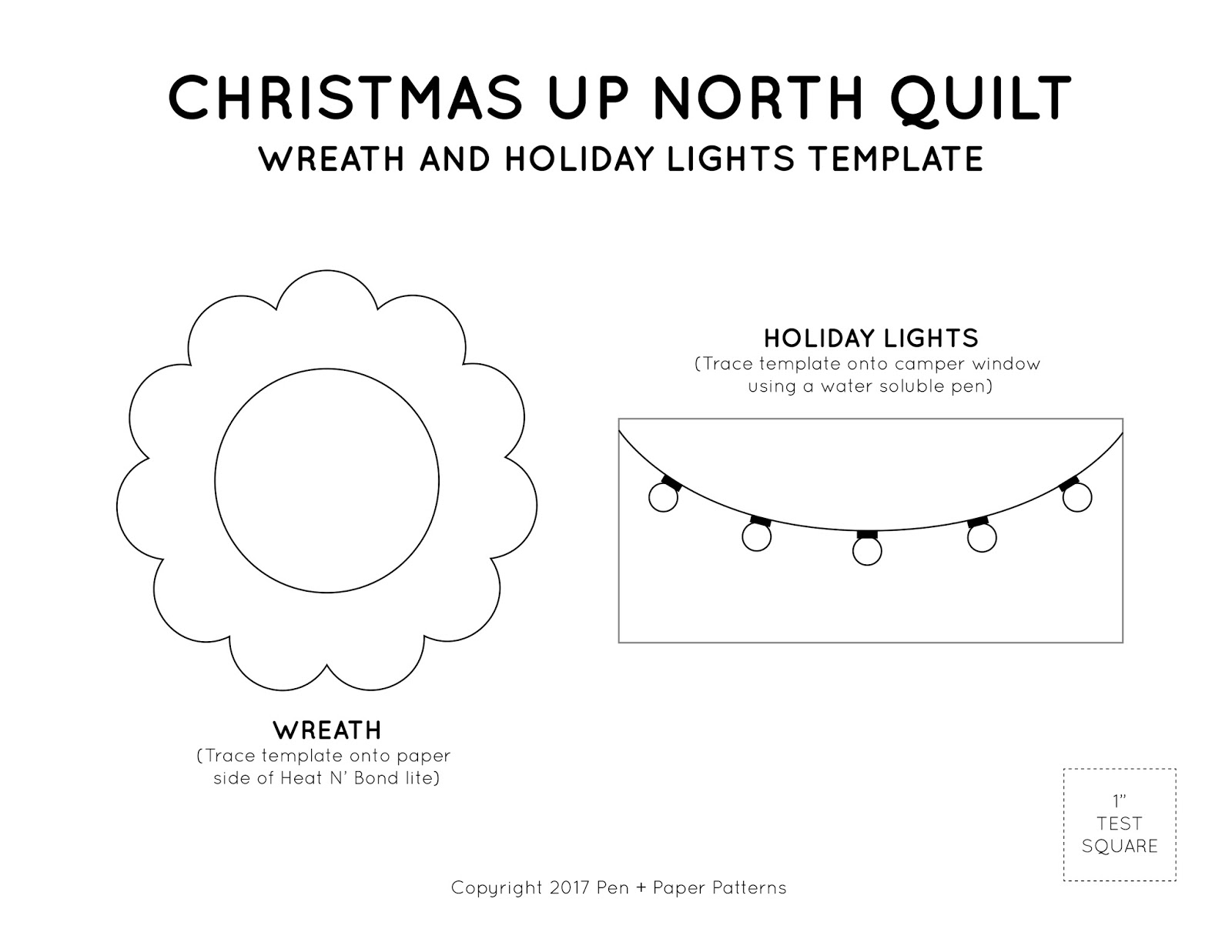 93+ Christmas Lights Template - Christmas Light Template Patterns ...