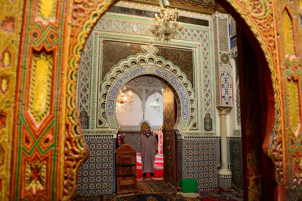 mausolée de Moulay Idriss