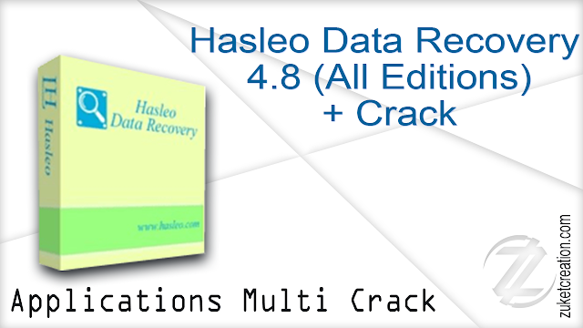 Hasleo Data Recovery 4.8 (All Editions) + Crack