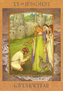 Gwenhwyfar Tarot da Deusa - Santuário Lunar