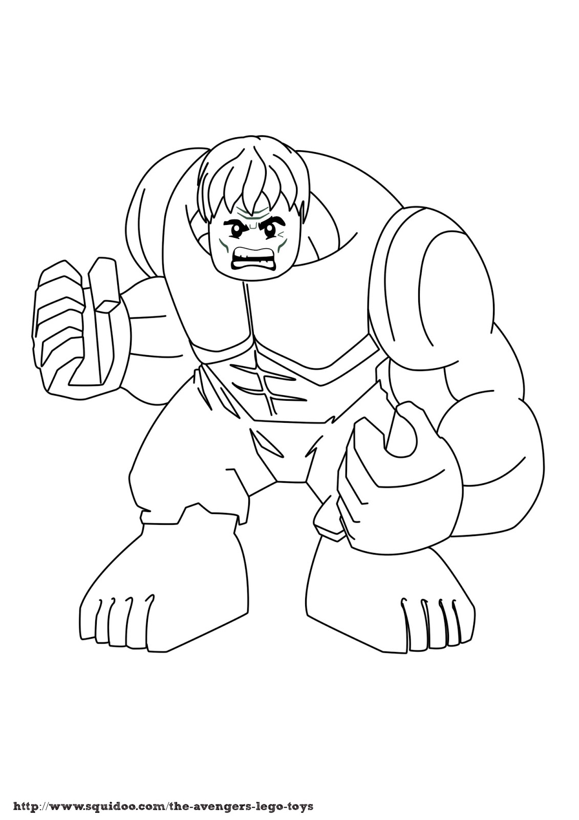 lego avengers coloring pages - photo #5